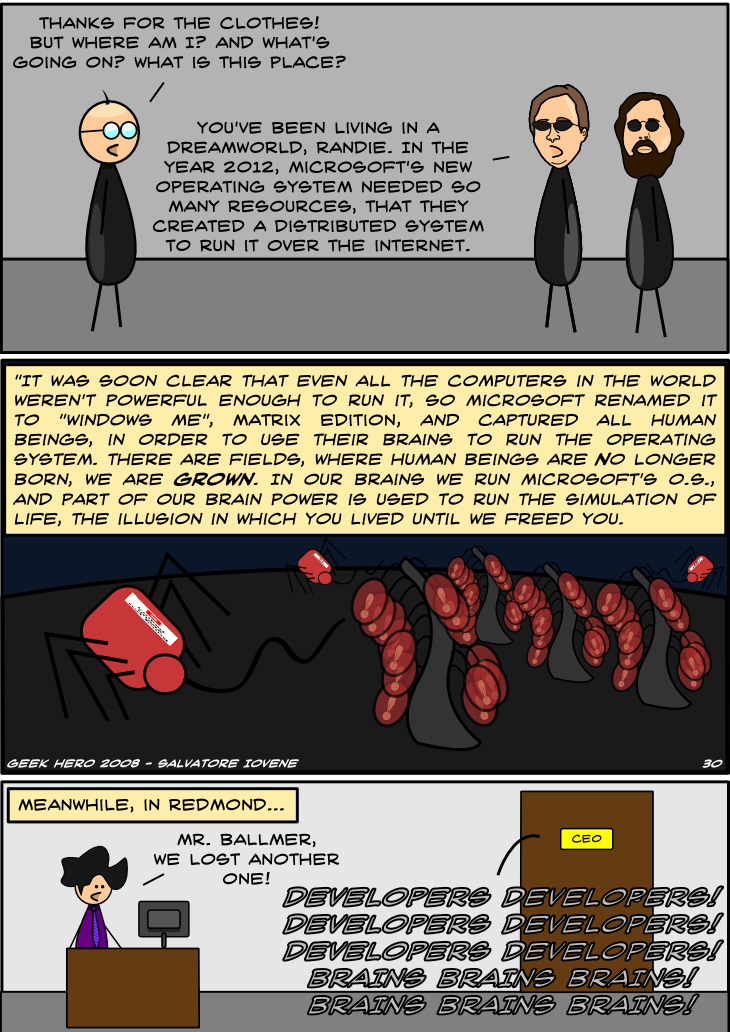 Geek Hero Comic – A webcomic for geeks: The truth