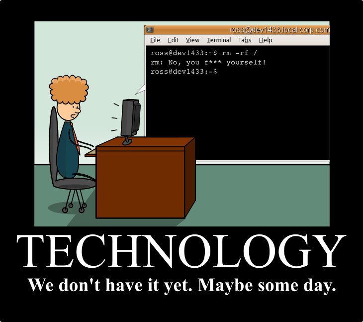 Geek Hero Comic – A webcomic for geeks: Technology