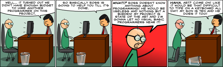Geek Hero Comic – A webcomic for geeks: The Art Of Programming
