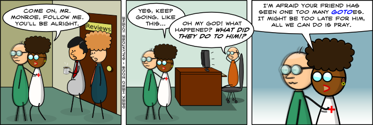 Geek Hero Comic – A webcomic for geeks: You Just Can't Take Too Many